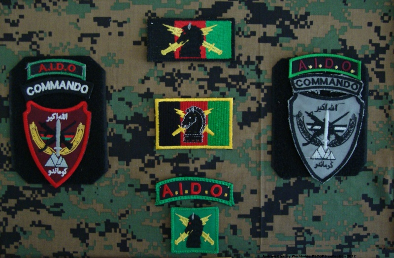 1st Afghan Commando - AIDO Program Patch Oef_af10