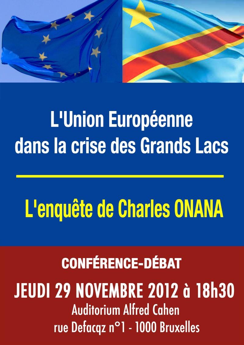EUROPE, CRIMES ET CENSURE AU CONGO, le nouveau livre très dérangeant de Charles Onana ! Onana10