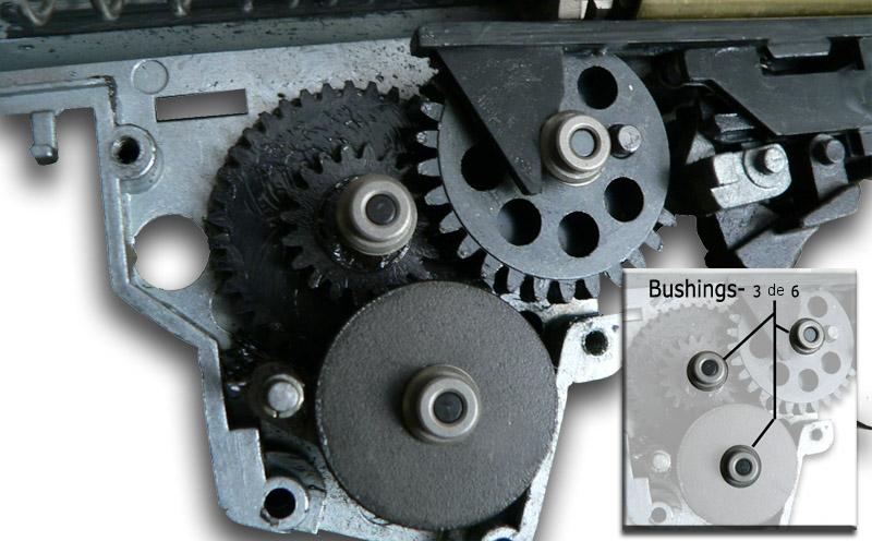 """ARTICULO INTERESANTE """" El gearbox por dentro"""" 510"""
