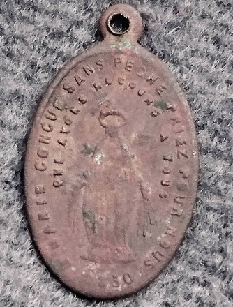 Medaille miraculeuse /st antoine de padoue XIX eme 33333310