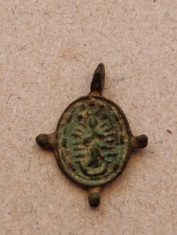 medaille Vierge immaculée conception et saint François d'assise XVIe XVIIeme _2018010