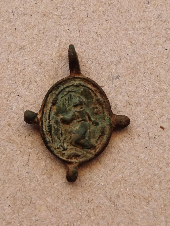 medaille Vierge immaculée conception et saint François d'assise XVIe XVIIeme _2018011