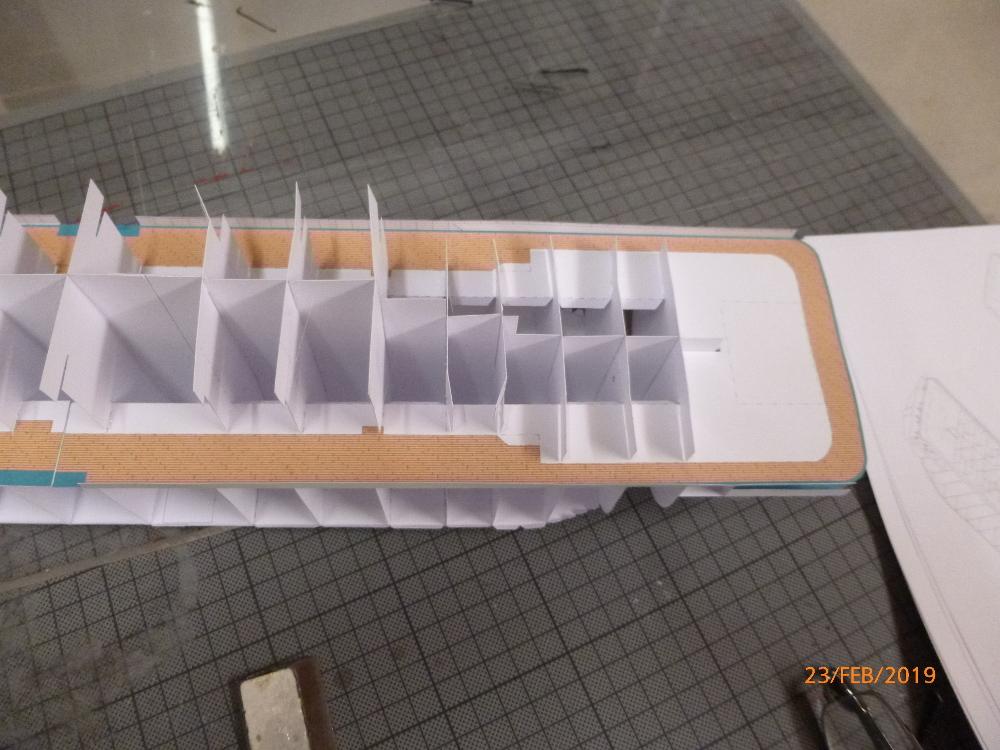 MS Amadea (ZDF Traumschiff) VK Design 1:250 Probebau von Millpet P1100614