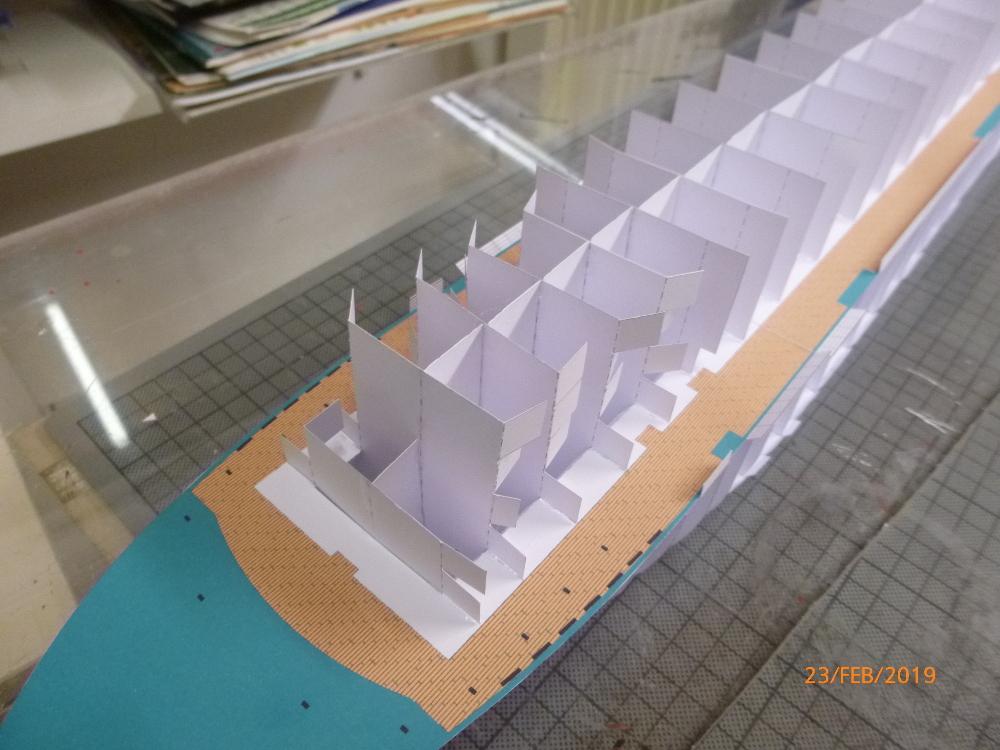 MS Amadea (ZDF Traumschiff) VK Design 1:250 Probebau von Millpet P1100615