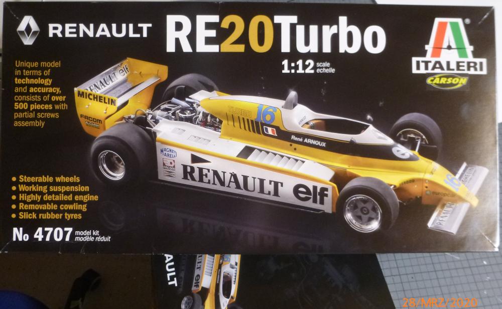Renault F1 RE20 Turbo Italeri 1:12 gebaut von Millpet P1110101