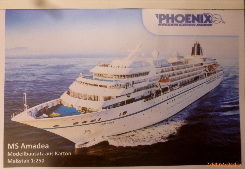 ZDF-Traumschiff MS Amadea 1:200 VK Design gebaut von Millpet P1110243