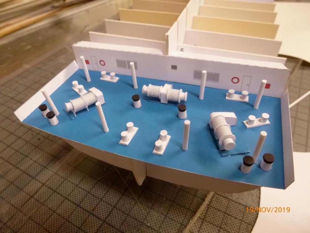 ZDF-Traumschiff MS Amadea 1:200 VK Design gebaut von Millpet P1110261