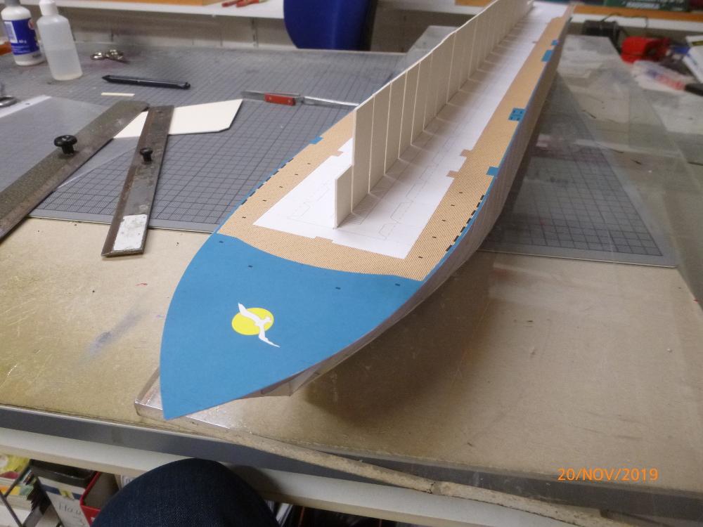 ZDF-Traumschiff MS Amadea 1:200 VK Design gebaut von Millpet P1110263