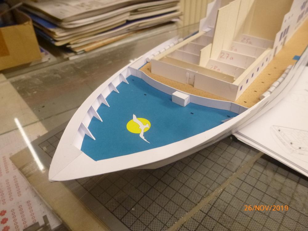 ZDF-Traumschiff MS Amadea 1:200 VK Design gebaut von Millpet - Seite 2 P1110281