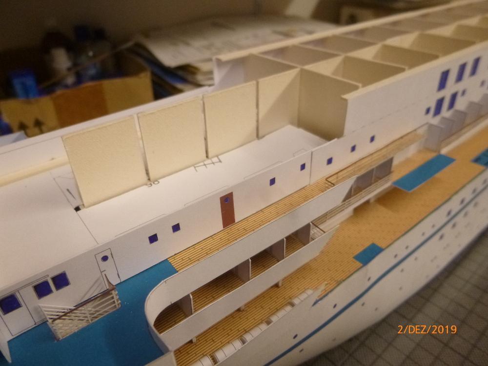 ZDF-Traumschiff MS Amadea 1:200 VK Design gebaut von Millpet - Seite 2 P1110288