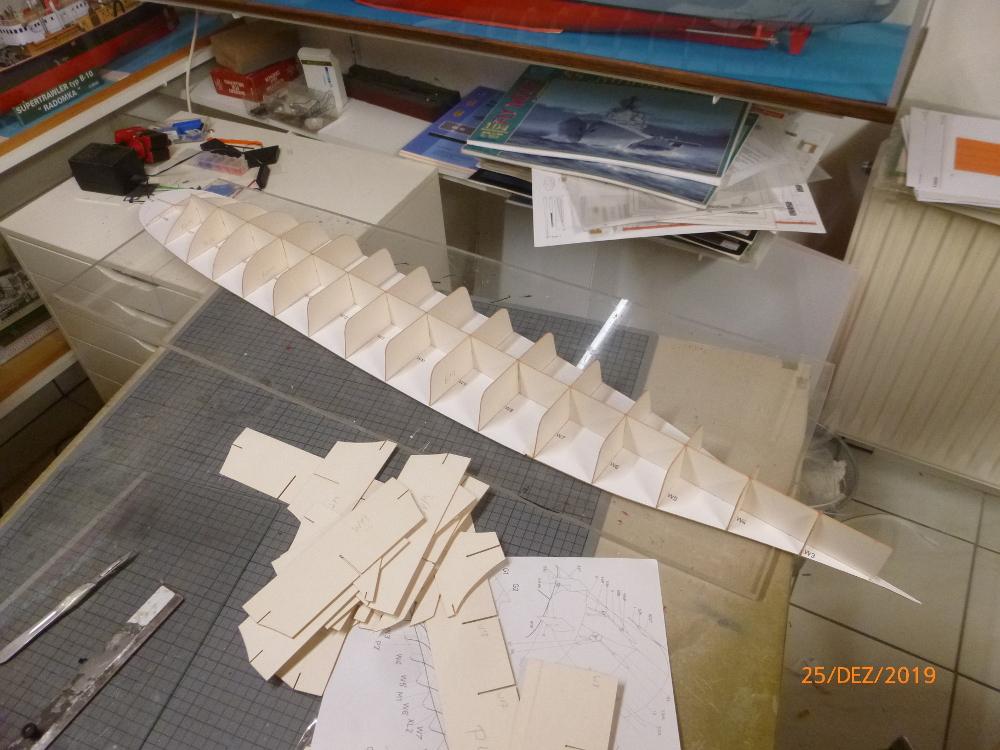 SS NOWOROSIJSK  Fly Model 1:200 gebaut von Millpet P1110348