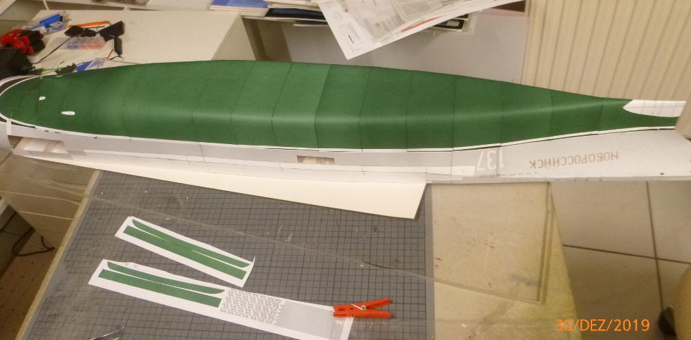 SS NOWOROSIJSK  Fly Model 1:200 gebaut von Millpet P1110361
