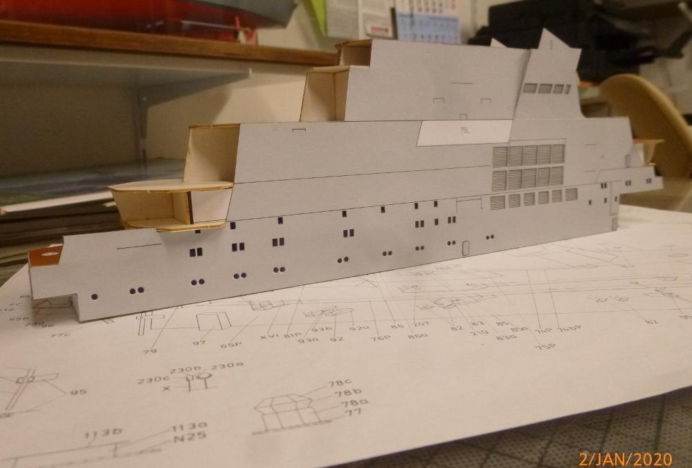 SS NOWOROSIJSK  Fly Model 1:200 gebaut von Millpet - Seite 2 P1110368