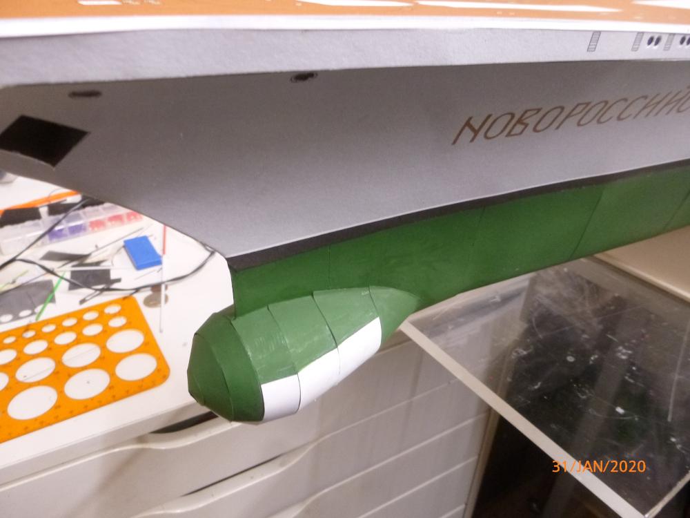 SS NOWOROSIJSK  Fly Model 1:200 gebaut von Millpet - Seite 3 P1110425