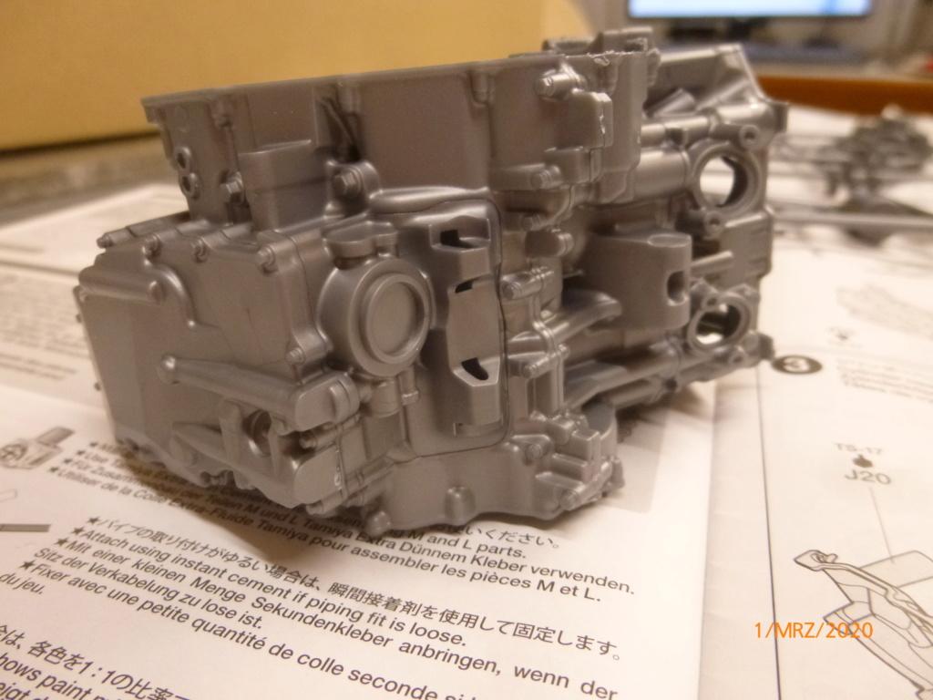 Honda CRF1000L Africa Twin Tamiya 1:6 geb. von Millpet P1110539