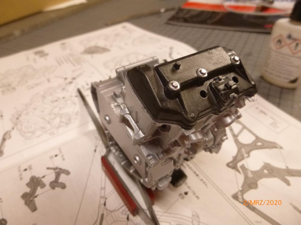 Honda CRF1000L Africa Twin Tamiya 1:6 geb. von Millpet P1110542