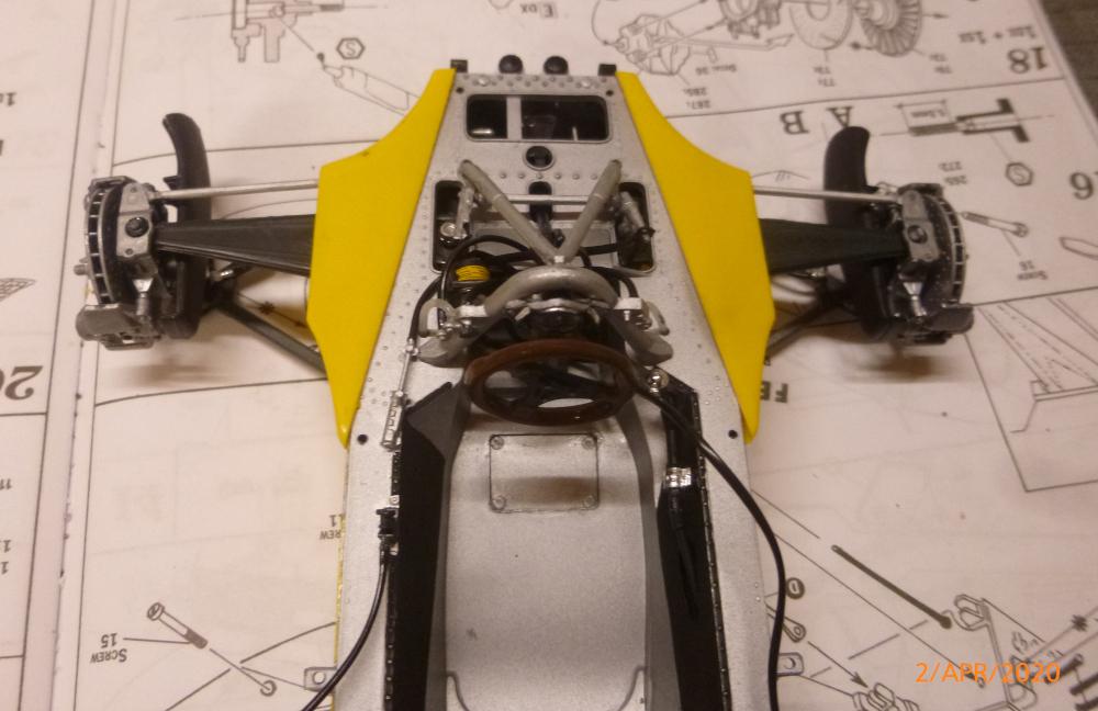 Renault F1 RE20 Turbo Italeri 1:12 gebaut von Millpet P1110626