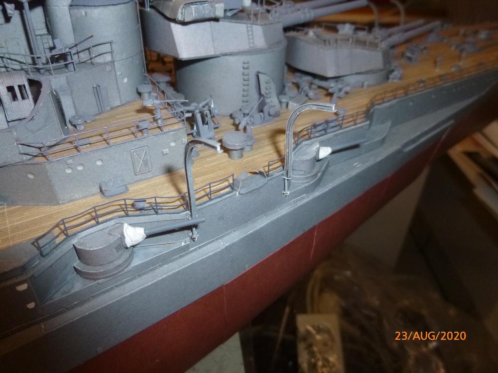 Jap. Schlachtschiff FUSO in 1:200 Halinski gebaut von Millpet   - Seite 36 P1120179