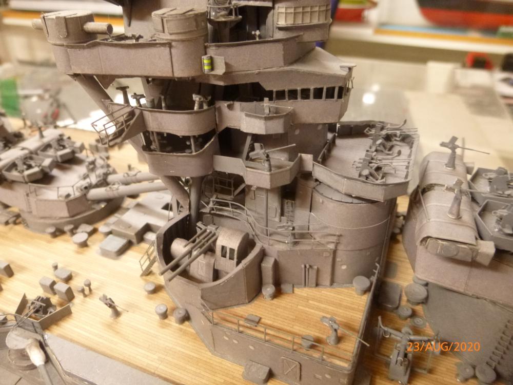 Jap. Schlachtschiff FUSO in 1:200 Halinski gebaut von Millpet   - Seite 36 P1120180