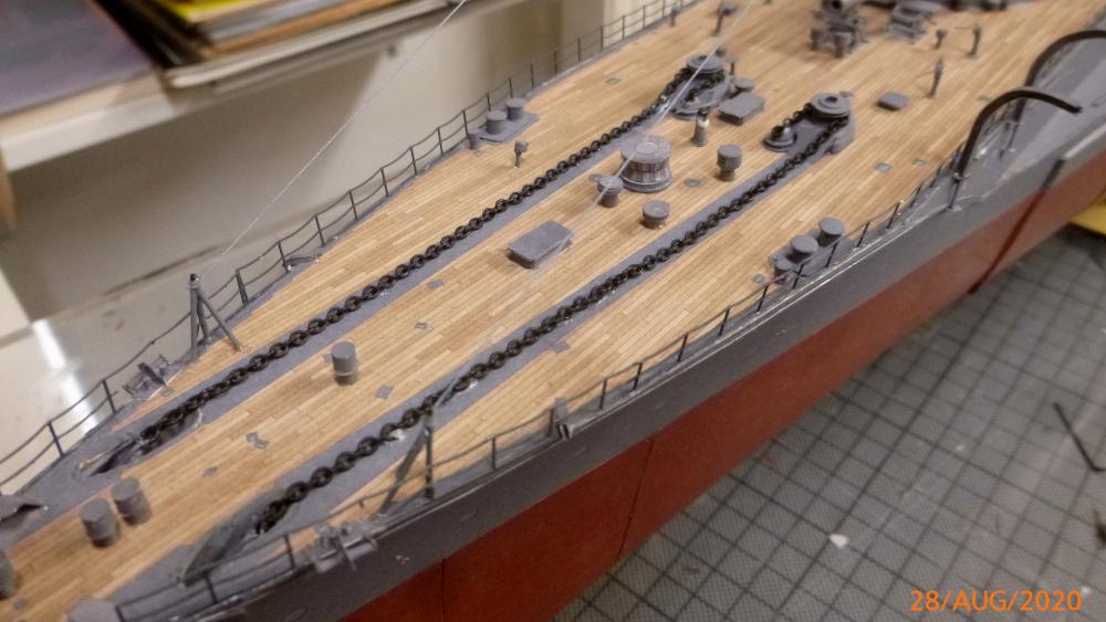 Jap. Schlachtschiff FUSO in 1:200 Halinski gebaut von Millpet   - Seite 36 P1120188