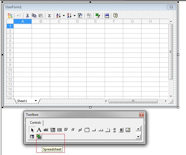 كيفية عرض البيانات الموجودة في ورقة العمل على الفورم بنفس شكل ورقة العمل 2222210