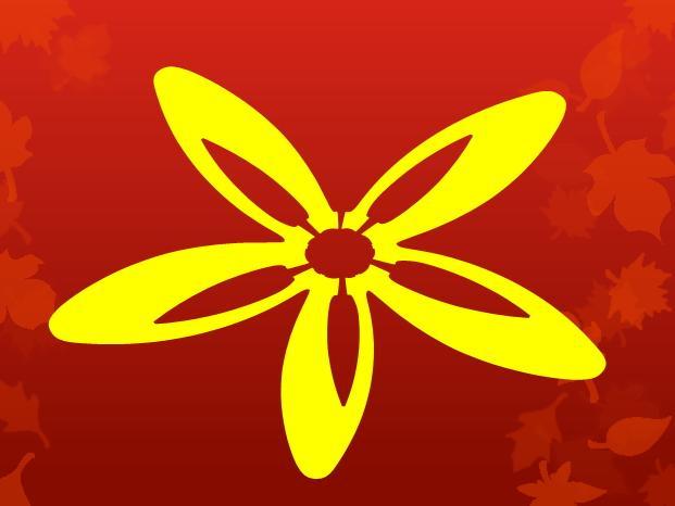 تصميم زهور باحرف فى البوربوينت بطريقة بسيطة 59233b11