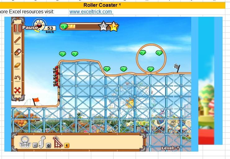 لعبة Roaler_Coaster بالاكسل Image_42
