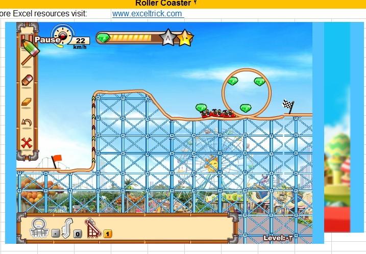 لعبة Roaler_Coaster بالاكسل Image_43