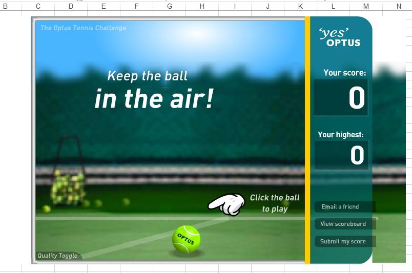 لعبة Tennis Challenge بالاكسل Image_45