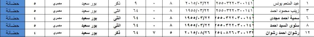 فورم حساب السن من الرقم القومى وتحديد المرحلة للطالب وترحيل كل مرحلة Oyoa310