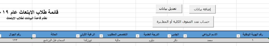 زر التعديل والحذف على يوزرفورم  Ya110