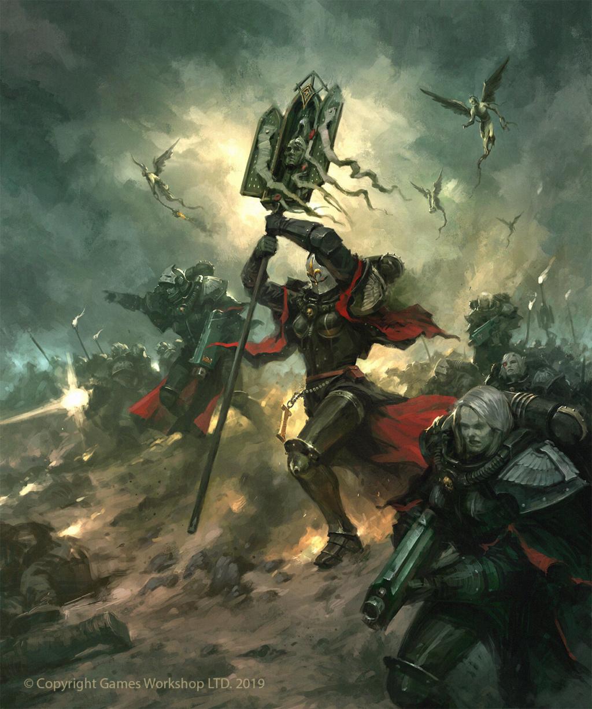 [W40K] Collection d'images : Inquisition/Chevaliers Gris/Sœurs de Bataille - Page 16 Jaime-10
