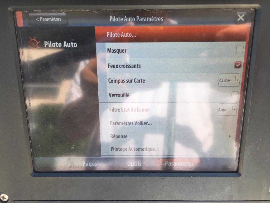 réglage pilote automatique sur B&G Zeus 2 Img_8411