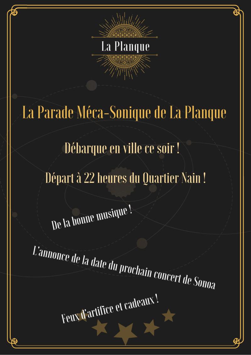 La Planque, les annonces ! - Page 2 Parade10