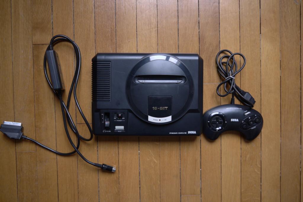 (ESTIM) 2 consoles Megadrive P1080122