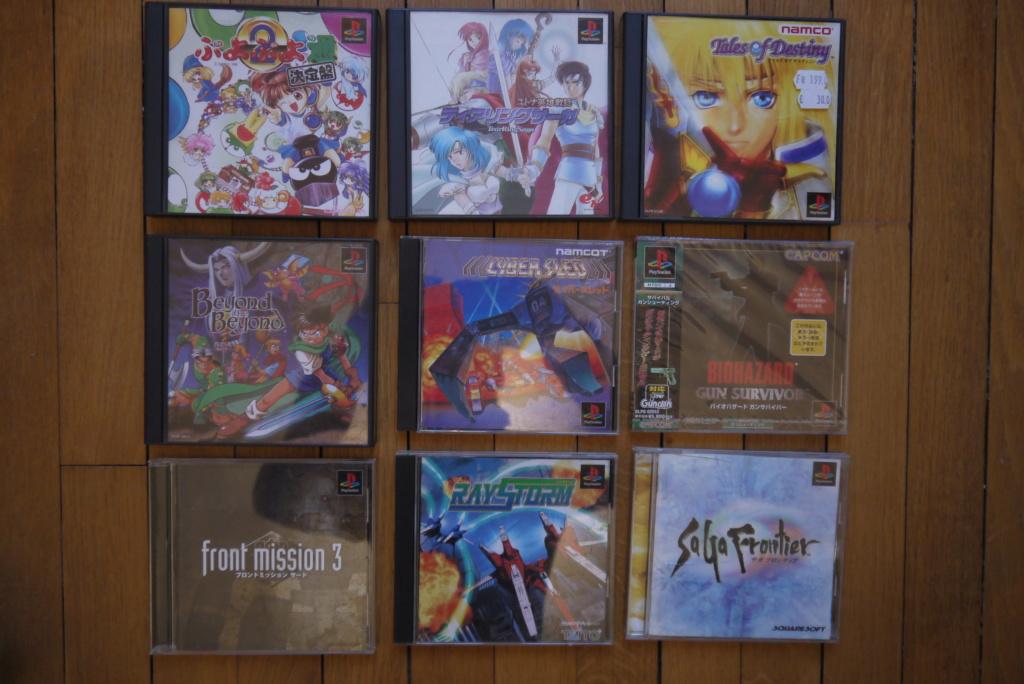 [VDS/ECH] PS one en boite, Jeux PS1 pal a 2 et 5 euros, jeux jap, jeux PS2 P1080931