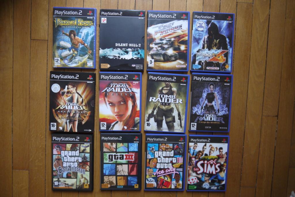 [VDS/ECH] PS one en boite, Jeux PS1 pal a 2 et 5 euros, jeux jap, jeux PS2 P1090034