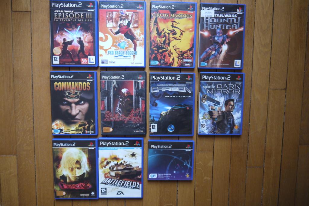 [VDS/ECH] PS one en boite, Jeux PS1 pal a 2 et 5 euros, jeux jap, jeux PS2 P1090035