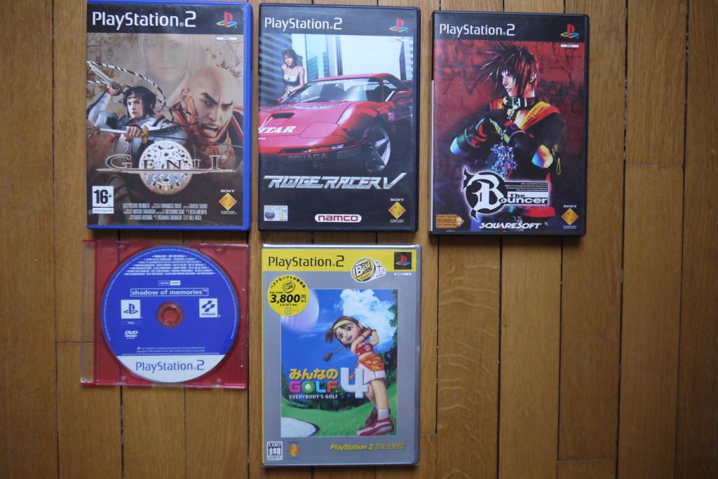 [VDS/ECH] PS one en boite, Jeux PS1 pal a 2 et 5 euros, jeux jap, jeux PS2 P1090036