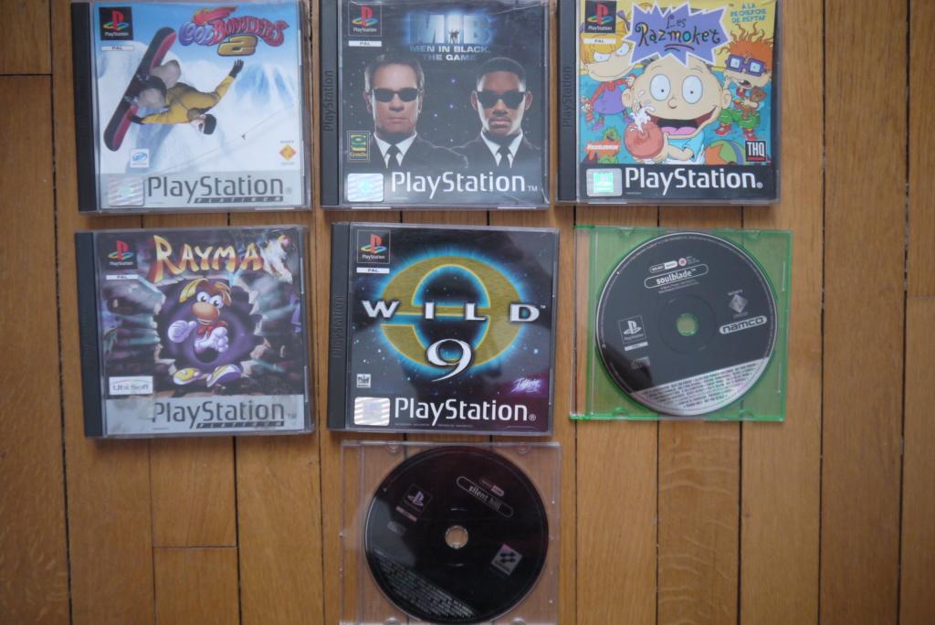 [VDS/ECH] PS one en boite, Jeux PS1 pal a 2 et 5 euros, jeux jap, jeux PS2 P1090038