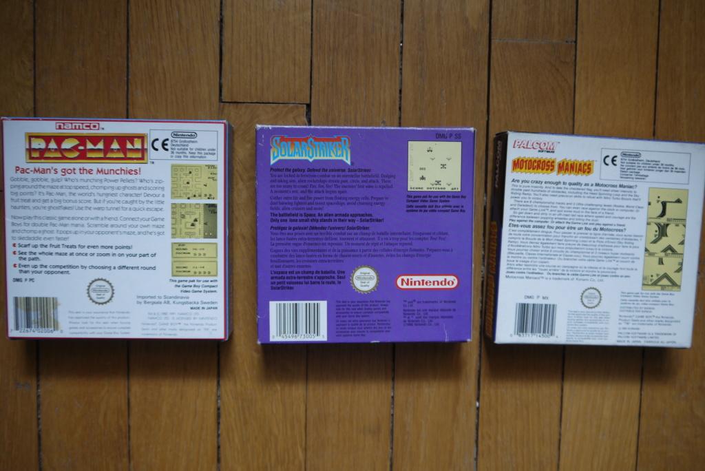 [VDS/ECH] Jeux Snes complets, console, Gyro Gyromite, Pacman et Motocross Maniacs complets GB, Chômakaimura SFC P1090217