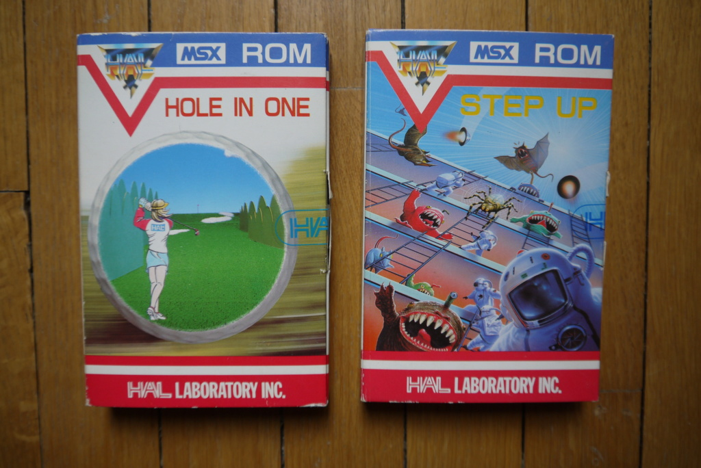 [VDS] Jeu MSX complet mint : Hole in one P1090222