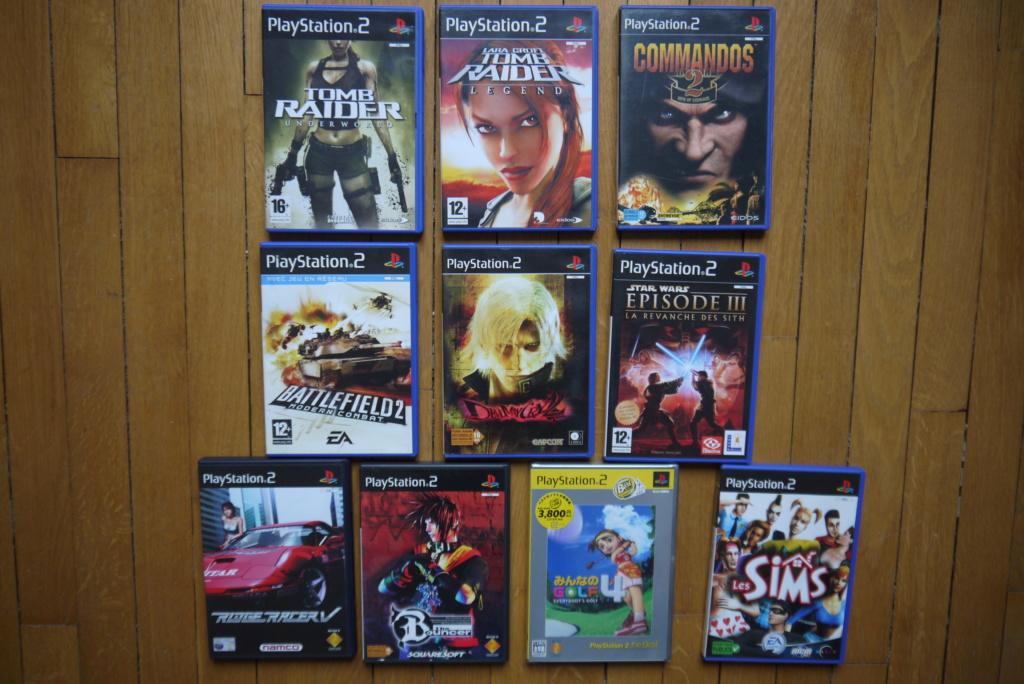 [VDS/ECH] Console PS2, Jeux PS1 pal et jap, jeux PS2, coffret Gcon 45 P1090325