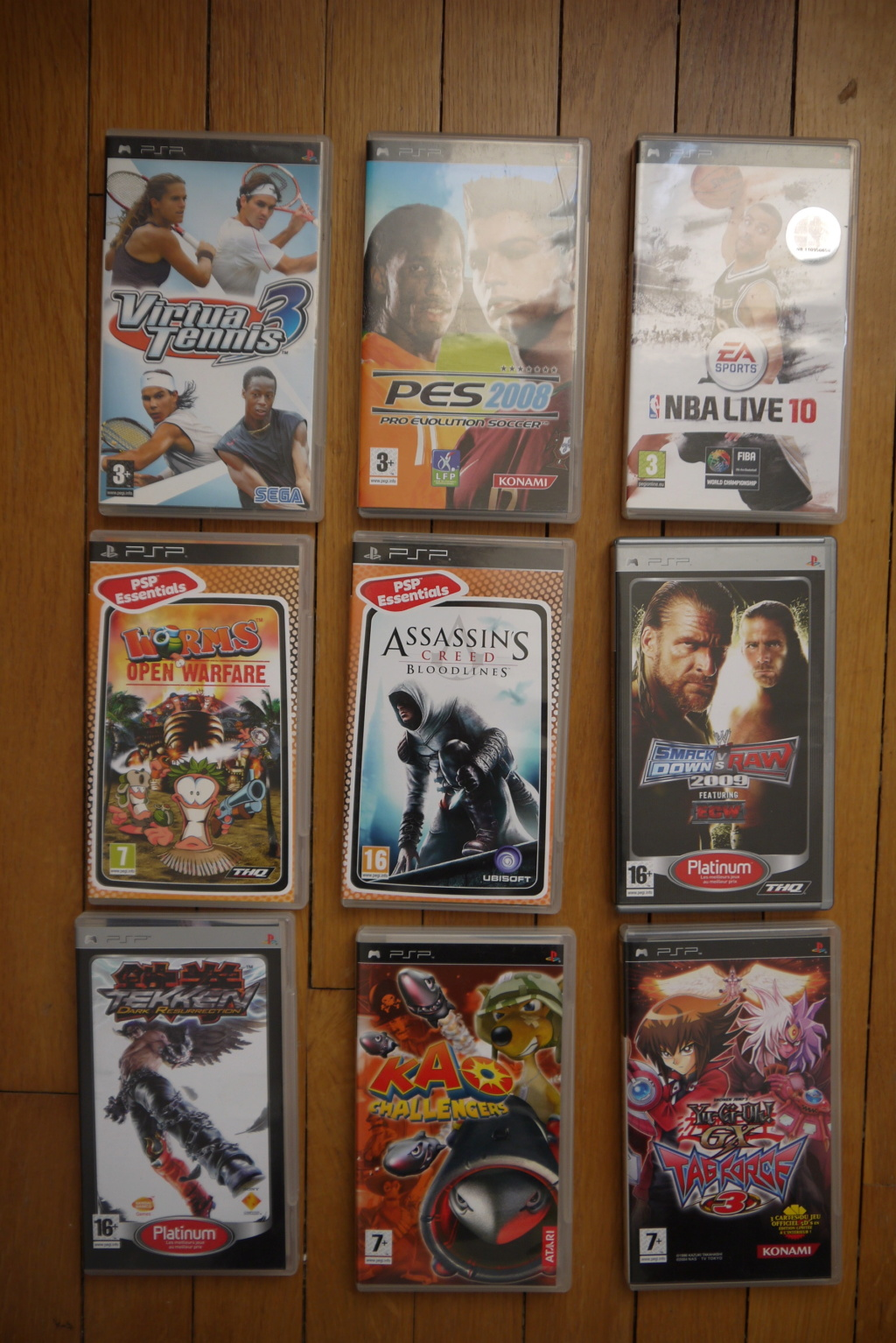 [VDS/ECH] Lot jeux PS2 : 30 euros ! FF7, FF9, Alone in the dark sur PS1 P1100018