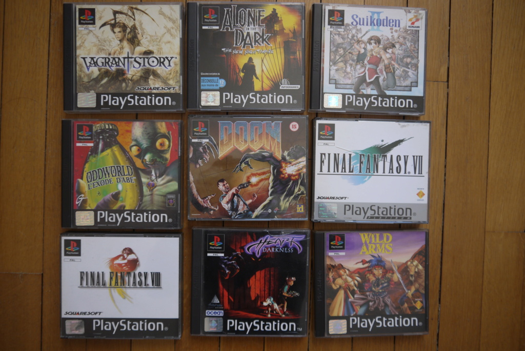 [VDS/ECH] Lot jeux PS2 : 30 euros ! Jeux PS1 : FF7, FF9, Doom, Heart of darkness... P1100062