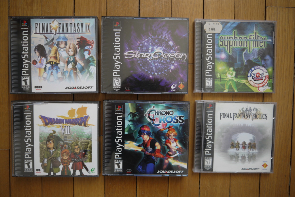 [VDS/ECH] Lot jeux PS2 : 30 euros ! FF7, FF9, Alone in the dark sur PS1 P1100064