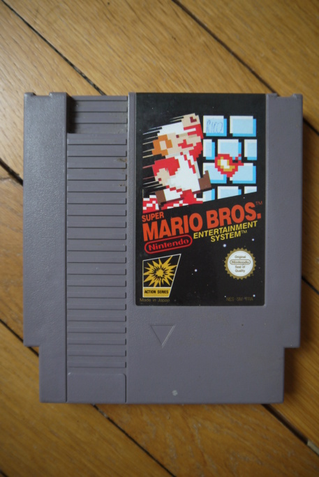 [ACH/ECH] Super Mario Bros loose NES P1100749