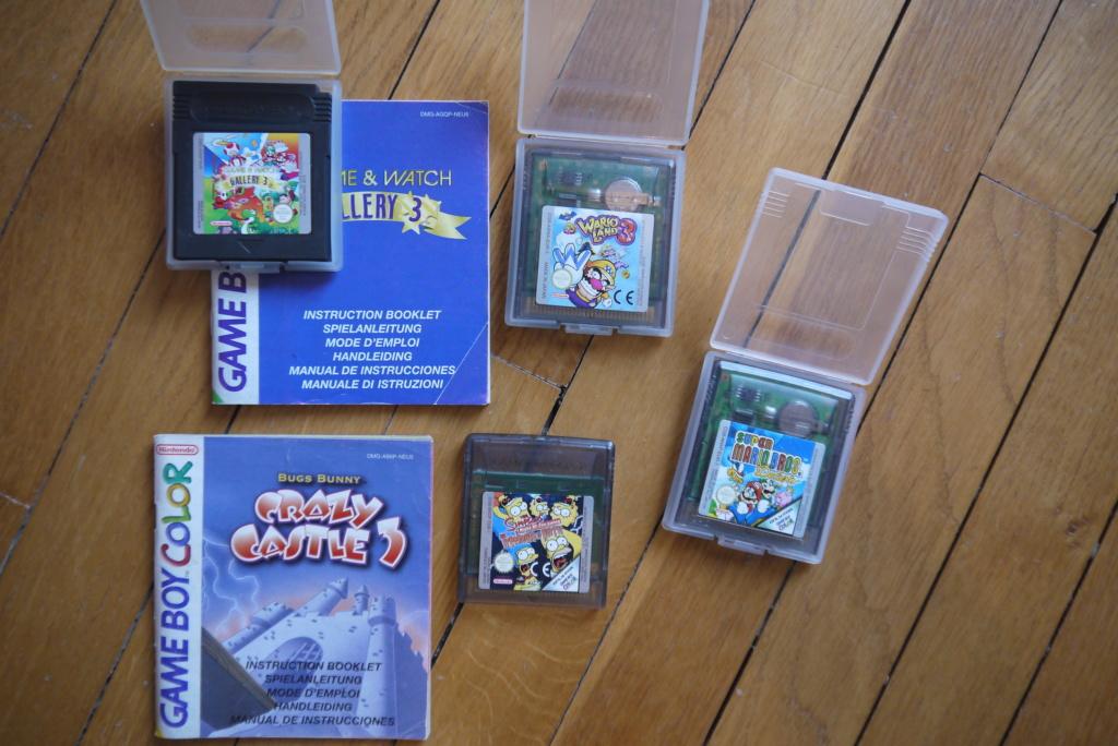 [ACH] Jeux game boy color et Nintendo 64  P1110029