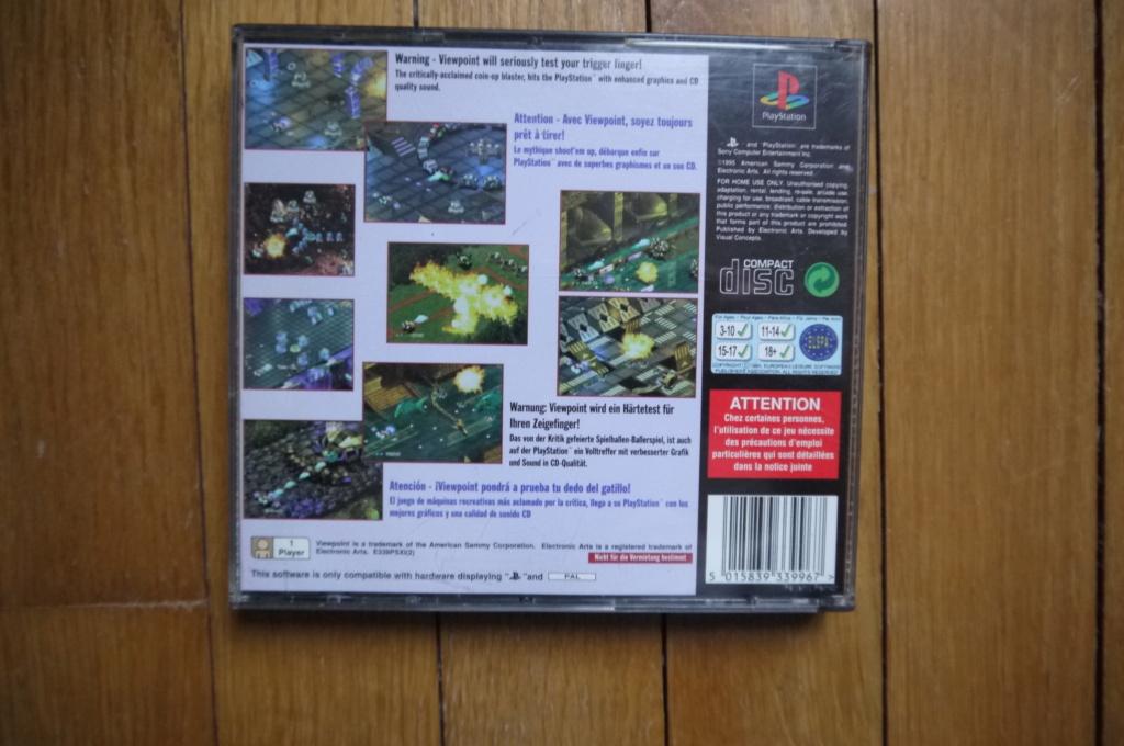 [VDS/ECH] Viewpoint PS1, jeux psp, console PS2 en loose - Page 14 P1110911