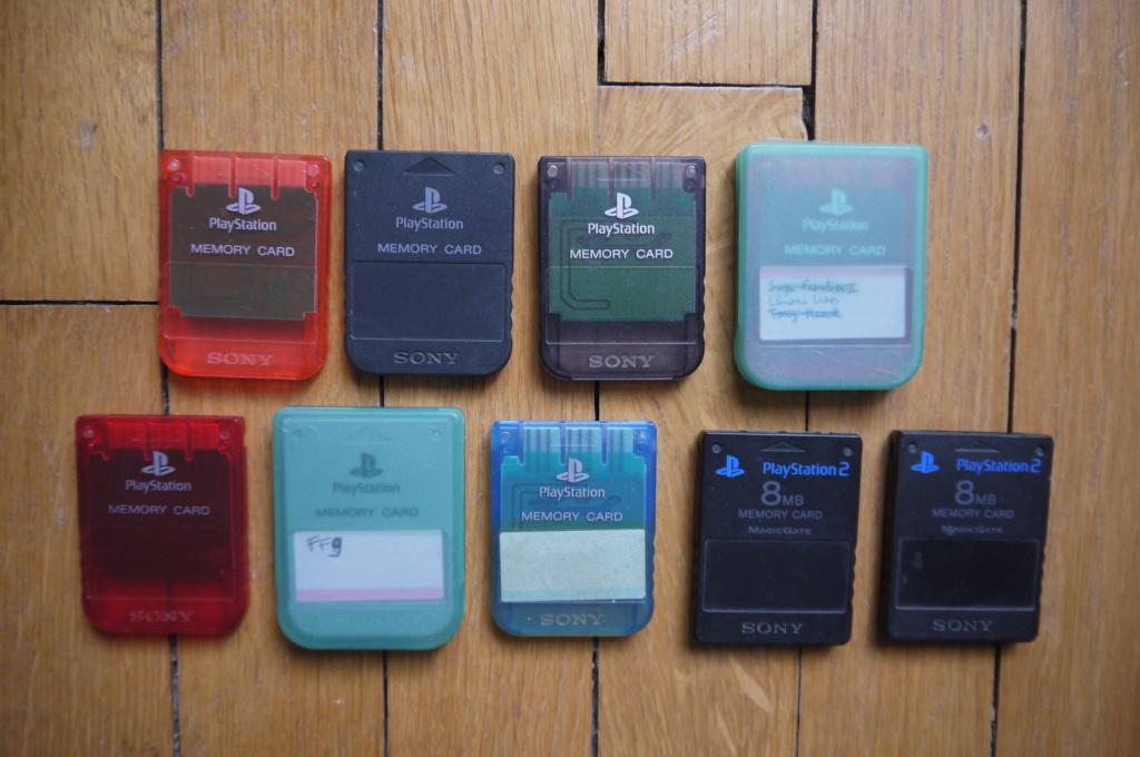 (ESTIM) Cartes mémoires PS1/PS2 P1120814